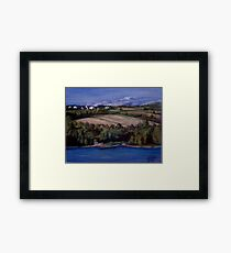 Along the St. Lawrence Framed Print