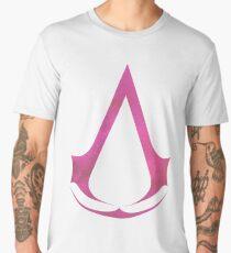 Assassins Creed Logo - Galaxy [pink] Men's Premium T-Shirt