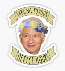 Gene Block's Office Hour Sticker