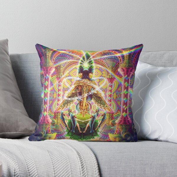 Death by Astonishment Throw Pillow
