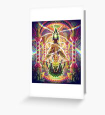 Death by Astonishment Greeting Card