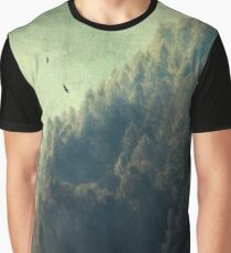 Tree Mountain Graphic T-Shirt