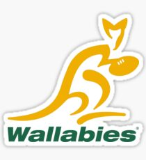 Wallabies Sticker