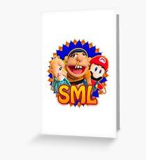 SML JEFFY ROSALINA & MARIO Greeting Card