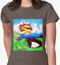 Super Bird Womens Fitted T-Shirt