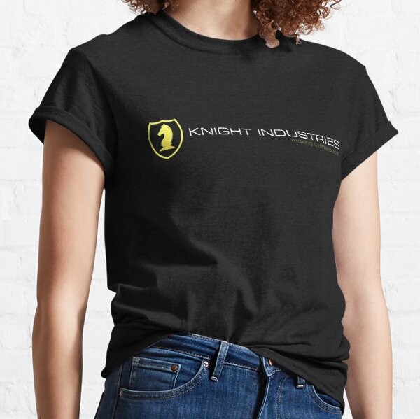 Knight Rider - Knight Industries Classic T-Shirt