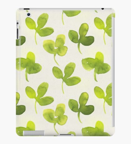 Shamrock iPad Case/Skin