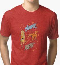 Hunde der Liebe Vintage T-Shirt