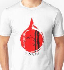 Kanji, Japanese characters. I repent T-Shirt