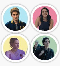 Riverdale Core Four Sticker