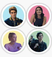 Riverdale Core Vier Sticker