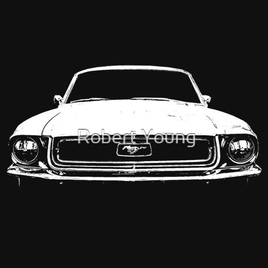TShirtGifter presents: 1968 Ford Mustang