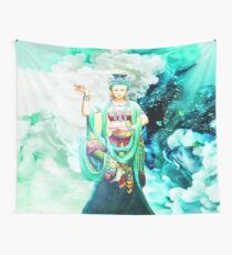 Kwan Yin The Goddess of Mercy Wall Tapestry