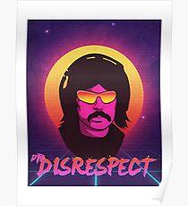 dr disrespect Poster