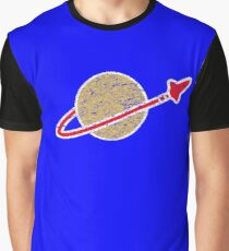 Retro  Lego Space Logo Graphic T-Shirt