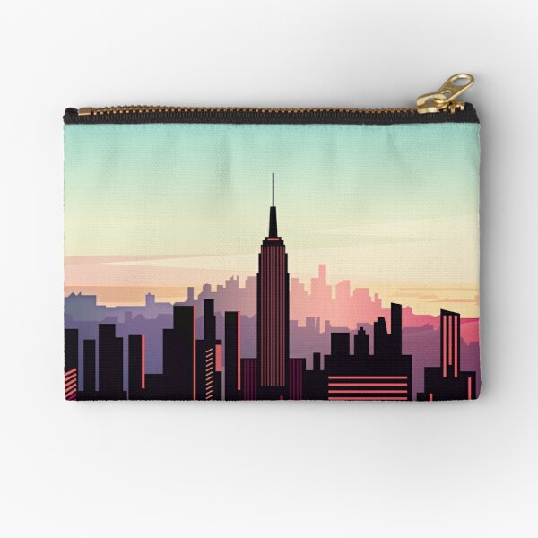 New york sunshine Zipper Pouch