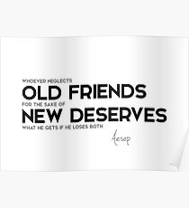 Old Friends Quotes Old Friends Quotes Posters | Redbubble Old Friends Quotes