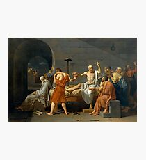 The Death of Socrates Photographic Print
