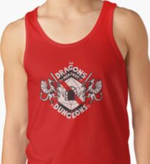 Dragons Against Dungeons Tank Top
