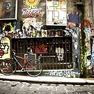 Hosier Lane Melbourne by Chris Muscat