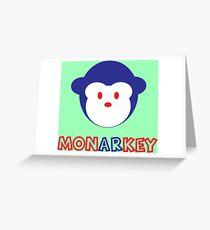 Monarkey Greeting Card