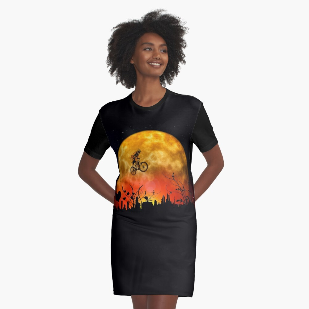 Showjumping Graphic T-Shirt Dress Front