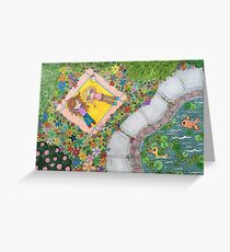 Relaxing in the park Greeting Card