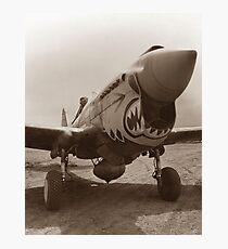 P-40 Warhawk - World War 2 Photographic Print