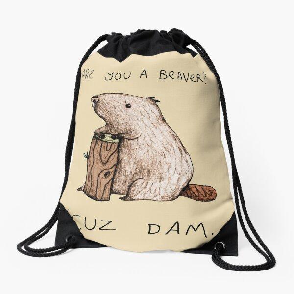 Dam Drawstring Bag