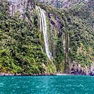 Milford Sound, New Zealand #4 by Elaine Teague