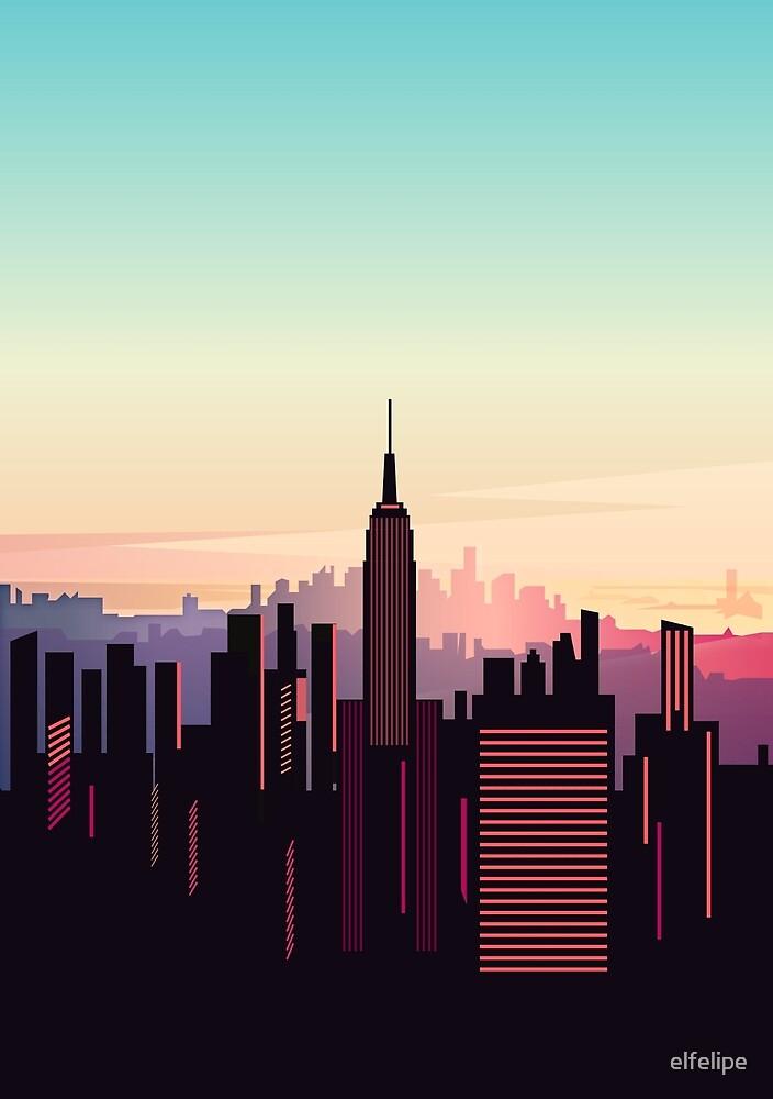 New york sunshine by elfelipe