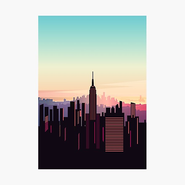 New york sunshine Photographic Print