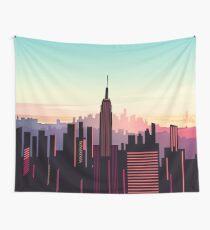 New york sunshine Wall Tapestry