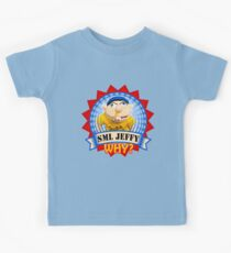 SuperMarioLogan Jeffy Why? Kids Tee