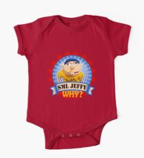 SuperMarioLogan Jeffy Why? One Piece - Short Sleeve