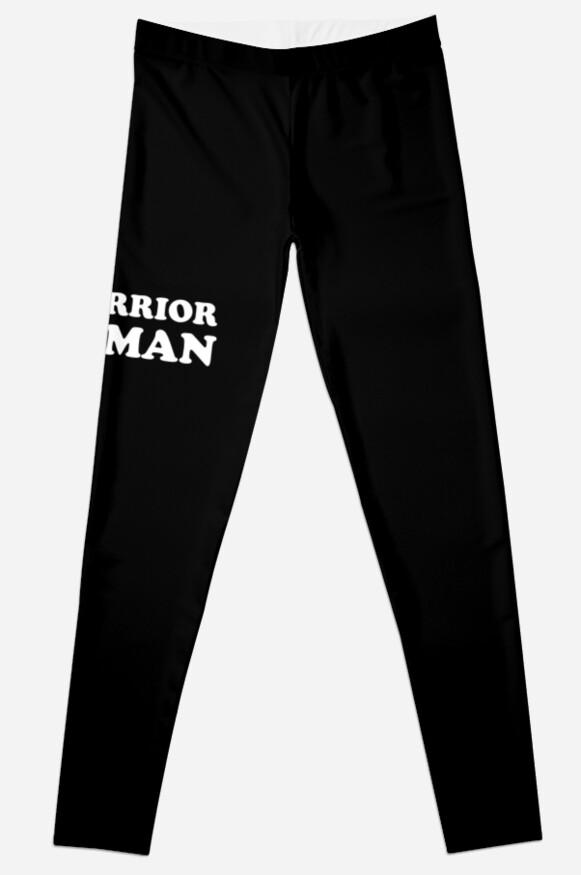 Warrior Woman Leggings by MainBrainWorks