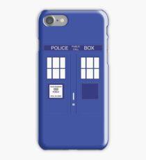 DOCTOR WHO Tardis Box iPhone Case/Skin