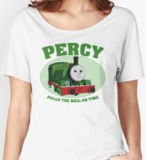 Percy - Pulls The Mail On Time Women's Relaxed Fit T-Shirt