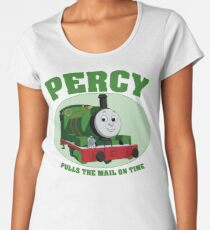 Percy - Pulls The Mail On Time Women's Premium T-Shirt