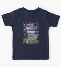Camping Under the Stars Kids Tee
