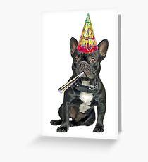 French Bulldog Birthday Greeting Card