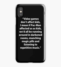 Video Games don't affect Kids iPhone Case/Skin