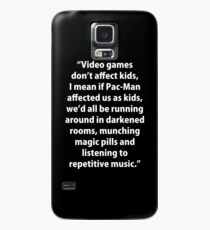 Video Games don't affect Kids Case/Skin for Samsung Galaxy