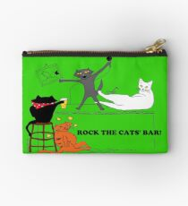 Rock The Cats' Bar! Studio Pouch