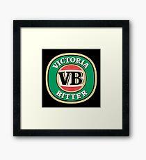 Victoria Bitter Framed Print
