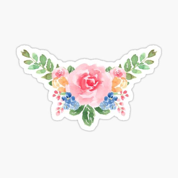 Watercolor Flower Bouquet Sticker