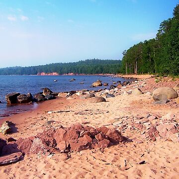 Summer Shores of Lake Superior by perkinsdesigns