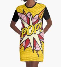 Comic Book Pop Art POP! Graphic T-Shirt Dress