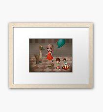 Happy day dear Mon Framed Print