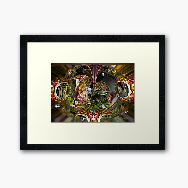 Happiness is a butterfly... Framed Art Print